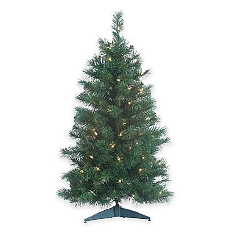 buy colorado spruce 3 foot pre lit christmas tree with