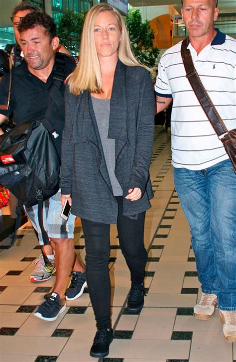 kendra wilkinson im a celeb i m a celebrity 2014 airport arrivals kendra wilkinson