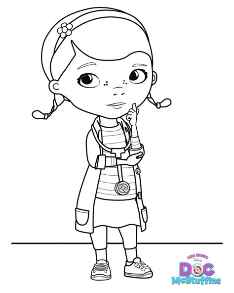 coloring pages of doc mcstuffins free printable coloring pages doc mcstuffins 2015