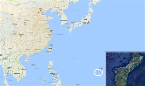 maps guam guam map where is guam will korea attack the us