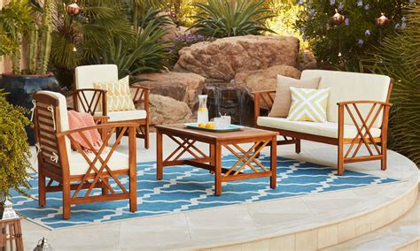 patio furniture overstock how to buy outdoor furniture that lasts overstock