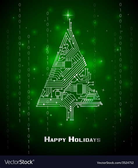 Lovely Compare Christmas Tree Prices #2: Hi-tech-christmas-tree-vector-3524712.jpg