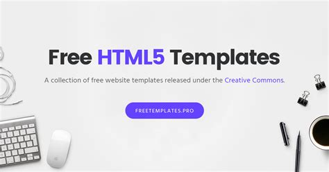 one page archives free html5 templates