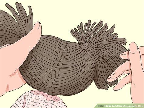 ways   amigurumi hair wikihow
