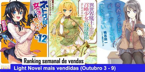 your name another side earthbound light novel books ranking semanal de vendas de light novels outubro 3 9