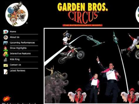 Bros Gardenis garden brothers circus tour dates 2016 2017 concert images tourlala
