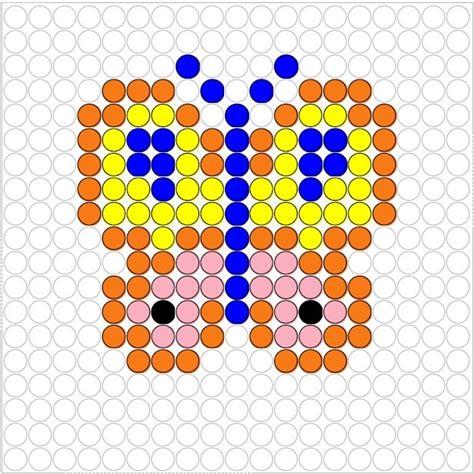 hama bead butterfly pattern butterfly perler bead pattern