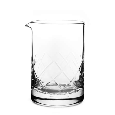 mixing glasses barware seamless yarai mixing glass flat base 550ml