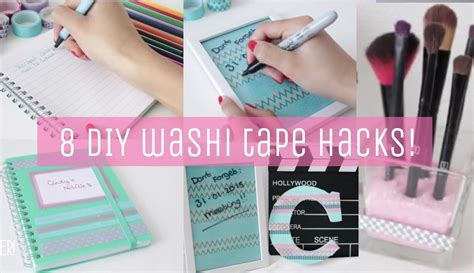 washi tape diy diy washi tape hacks for school and room my crafts and