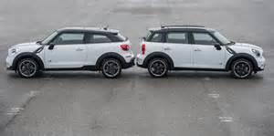 Mini Cooper Vs Countryman Photo Gallery Mini Paceman Vs The Countryman Motoringfile