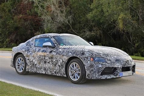 toyota new supra 2018 toyota supra prototype debuts production body looks