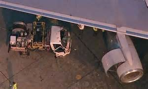 Fuel Truck Driver by Fuel Truck Driver Cut Free After Crash Into American Airlines Jet At Lax Daily Mail