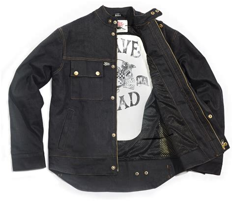 Fuel Downtown Denim Motorcycle Jacket
