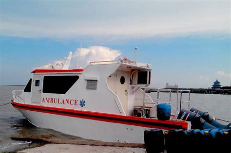 jual kapal ambulance 10 meter aluminium harga murah