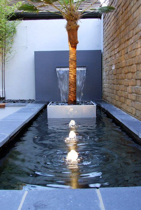 Modern Wall Water Features by Pics For Gt Contemporary Garden Water Fountains Garden