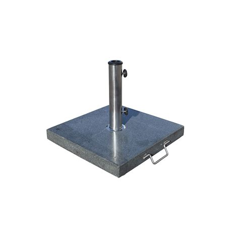 Patio Umbrella Stand With Wheels Patio Umbrella Base 60 Lbs Stained Granite Base With Wheel Krt Concepts Patio Furniture
