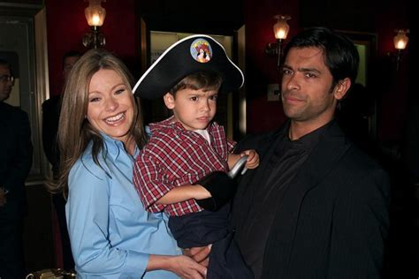 mark consuelos opens up about the first time he laid eyes on kelly kelly ripa and mark consuelos son is all grown up