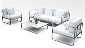 2 Chair Patio Set Outdoor Stainless Steel Sofa Furniture Id 5437525 Product