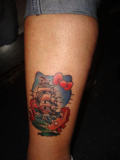 hello kitty nautical tattoo neatorama