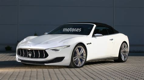 maserati alfieri white maserati alfieri cabrio y coup 233 para 2016 con motores v6