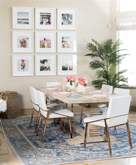 Dining Room Rug Placement by How To Choose A Rug Rug Placement Size Guide Designer
