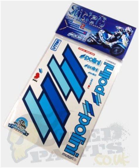 Yamaha Aerox Sticker Set by Polini Sticker Set Pedparts Uk