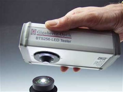 Light Bulb Color Hand Held Led Measurement Tester Measuring Led Light