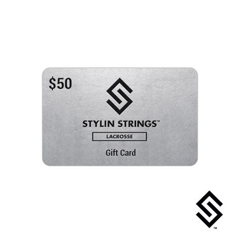 Lacrosse Gift Cards - stylin strings 50 gift card