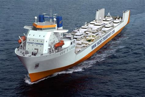 yacht express shipping home on dockwise