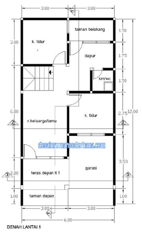 gambar desain rumah  lt renovasi rumah type