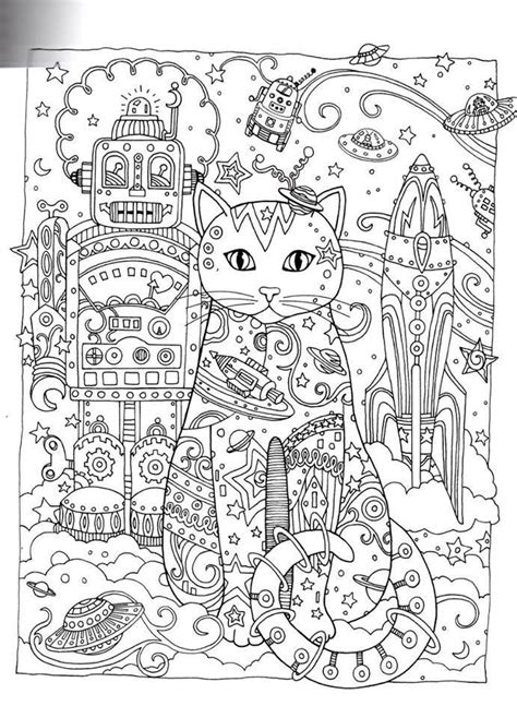 free printable coloring pages of cats for adults creative cats adult coloring pages gatos coloring