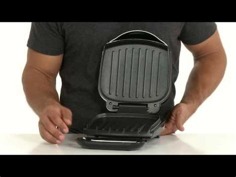 george foreman gr10b grill ch electrics kitchen gr10b george foreman 2 serving grill product features