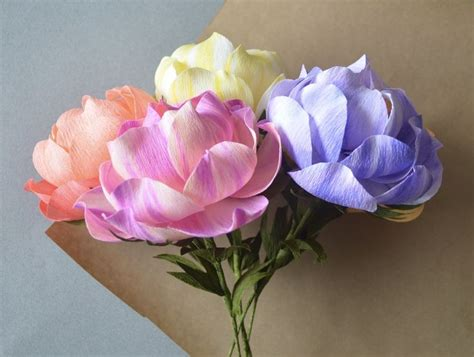 Handmade Crepe Paper Flowers - 364 best images about crafts paper flowers 3 on