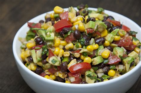 4 protein rich salads tasty black bean and corn salad vegetarian salad recipes
