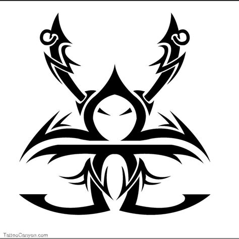 tribal gemini tattoos gemini images designs