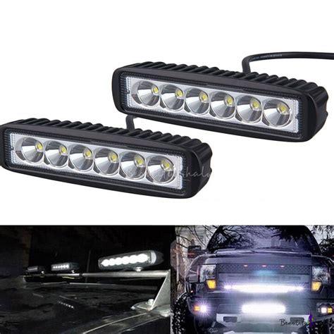 Led Cree Slim Offroad 18watt 7 inch led work light bar 18w cree led spot beam led for road 4x4 jeep truck atv suv
