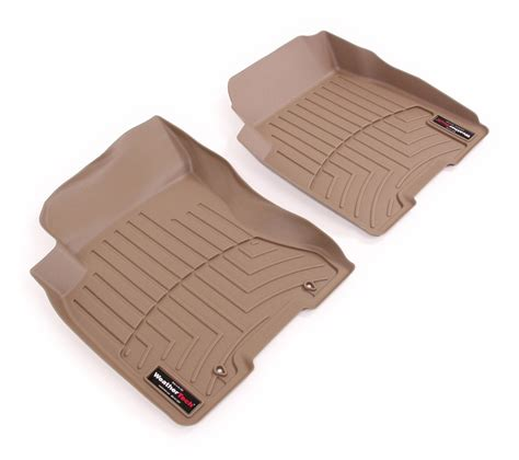 2013 nissan rogue weathertech front auto floor mats tan