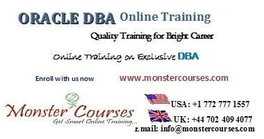 oracle tutorial for experts oracle dba online training online by experts with placements