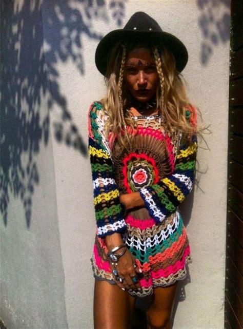 what to but a hippie fir christmas dress crochet crochet clothes hippie rainbow sweater swimwear swimwear tribal pattern