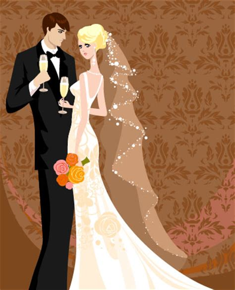 A Marriage Free Wedding Card Background 01 Vector Vector Background Vector Free