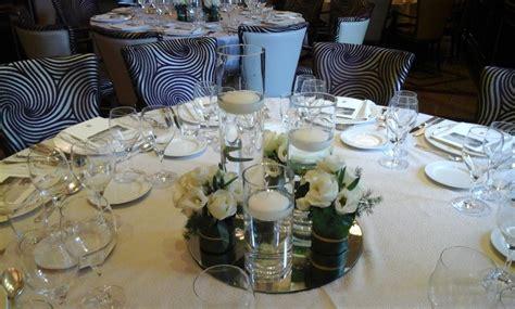 centrotavola con candele per matrimonio centrotavola per matrimoni addobbi floreali per
