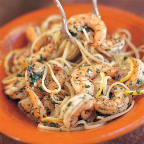 ina garten shrimp linguine linguine with shrimp sci recipes barefoot contessa