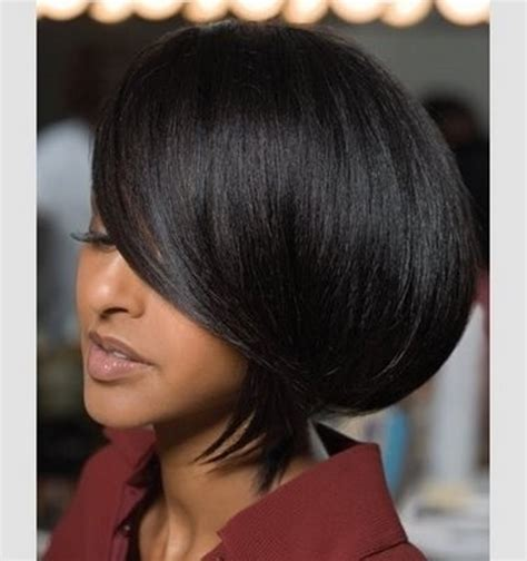 black american hair style on a circle to school medium bob hairstyles african americanblack hair style
