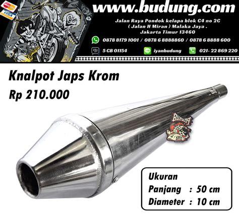 Jual Knalpot Japstyle Crom Kaskus knalpot japstyle cb modifikasi motor japstyle terbaru
