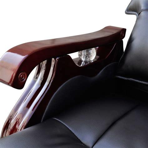 sedie massaggianti sedia per massaggi regolabile in pelle 9 funzioni