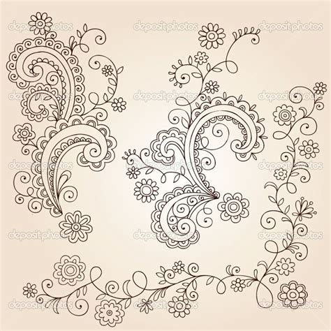 mandala vine tattoo small flower tattoo ideas henna mehndi paisley flowers