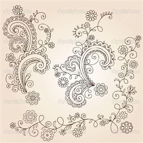 doodle flower design small flower ideas henna mehndi paisley flowers