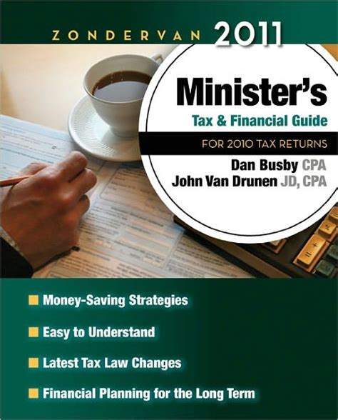 zondervan 2018 minister s tax and financial guide for 2017 tax returns books busby zondervan ministers tax and financial guide book