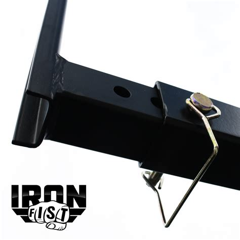 hitch bed extender iron fist pick up truck bed hitch extender extension rack