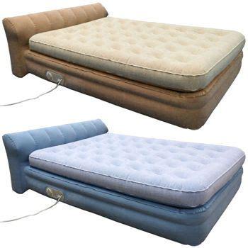 blow up headboard aerobed 174 elevated mini headboard inflatable air mattress